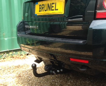 Detachable Towbar on a Freelander 2